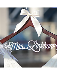 Gifts Bridesmaid Gift Deluxe Personalized Wedding Dress Hanger, Custom Bridal Bridesmaid Hanger