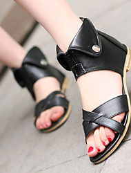 Women's Shoes  Low Heel Gladiator Sandals Office & Career/Casual Black/Brown/White/Beige