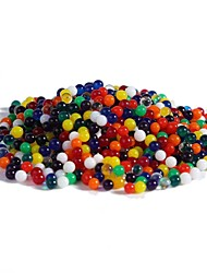 Pack of Ten Bags(about 30 Grams) of Crystal Soil Water Beads, Rainbow Mix