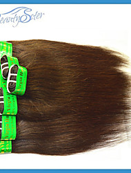 Wholesale Indian Straight Hair Medium Brown Color Grade5A 2Kg 40Pieces Beauty Good Quality Cool Summer