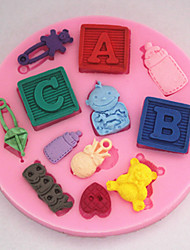 Bakeware Baby Fondant Mold Cake Decoration Mold SM-255