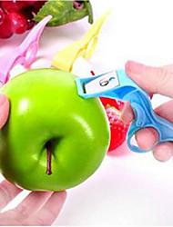 Stainless Steel Blade Apple Fruit Peeler Knife Kitchen Fruit Knife (Random Color)