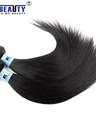 "3 Pcs /Lot 8""-30""4A Peruvian Virgin Hair Straight Hair Extensions 100% Unprocessed Remy Human Hair Weaves"