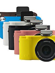 dengpin armadura de borracha de silicone pele macia saco tampa da câmera caso para samsung nx3300 NX3000 (cores sortidas)