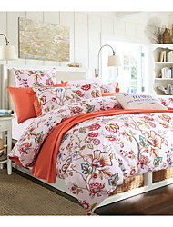 Yuxin®American Family of Four Cotton Twill Fully Active Printing Bedding Suite   Queen/King  Size