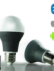 smart ledrgb app contrôle bluetooth et l'ampoule warmwhite