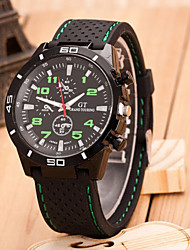 Men's Fashion Outdoor Outdoor Car Quartz Sport Steel Belt Watch(Assorted Colors) Wrist Watch Cool Watch Unique Watch