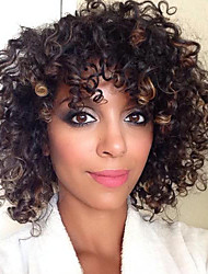 Women Lace Front Wig  India Hair Color(#1 #1B #2 #4)Curly Hair Custom wig