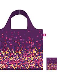 Free Shipping Fashion Floral Foldable Reusable Bag,Ecobags Handbags Women,Shopping Bag Dot,Purple,Factory Outlet