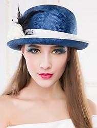 Mujer Sombrero Fedora Fiesta/Casual - Verano - Paja