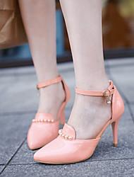 Chaussures Femme Similicuir Talon Aiguille Talons Escarpins / Talons Habillé/Soirée & Evénement Vert/Rose/Blanc