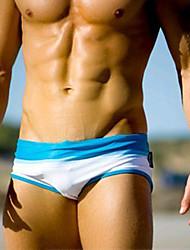 Shorts de Bain Pour des hommes Couleur Pleine Nylon