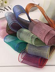 Laço de Cetim ( Preto/Vermelho/Lilás/Rosa/Verde/Azul/Dourado/Amarelo/Laranja/Fúcsia/Uva , de Organza ) - Não-Personalizado