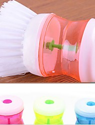 1PCS Plastic Brush Kitchen Wash Tool Cleaning Random Color