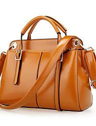 Women PU Weekend Bag Shoulder Bag / Tote - Pink / Brown / Burgundy