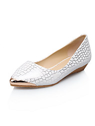 Women's Shoes Flat Heel Comfort Flats Outdoor/Office & Career/Dress/Casual Blue/White