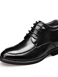 Scarpe da uomo Casual Di pelle Stringate Nero
