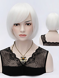 Grey Popular Short Hair Wigs Bob Hair Wave Synthetic Hair Wigs
