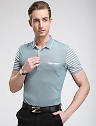 Men's Casual/Sport/Plus Sizes Pure Short Sleeve Regulartennis shirt polo shirt Cotton/Lycra)