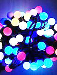 6w 5 metro di diametro esterno lampadina 50pcs ha condotto le luci della stringa di modellazione piccole luci a sfera, colore rgb