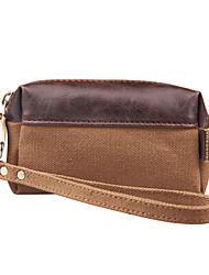 kaukko donne della tela di canapa della borsa del raccoglitore sacchetto del cellulare sacchetto di chiave