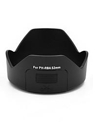 mengs® ph-RBA 52mm Bajonettblütenblatt Gegenlichtblende mit Filterfenster für Pentax DA 18-55mm / dal 18-55mm