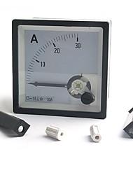 30a dc analoge amp meter ammeter 12v