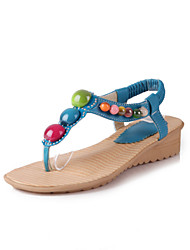 Women's Shoes Wedge Heel Wedges/Toe Ring Sandals Office & Career/Dress/Casual Multi-color