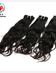 3 piezas 7a lxbd 2015 venta caliente color natural onda natural virgen armadura del pelo malasio