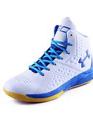 Basketball Men's Shoes Faux Leather Blue/White