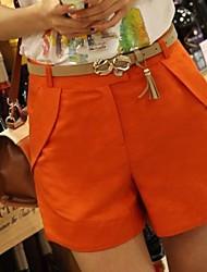 Women's Casual Plus Size Linen Shorts Pants (More Colors)