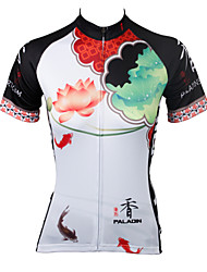 PaladinSport Women Short Sleeve Cycling Jersey New Style DX545 100% Polyester