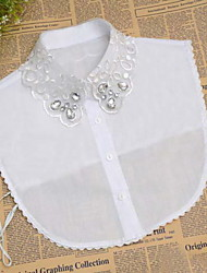 Fashion Women`s Solid Fabric Cotton/Acylic Collar Necklaces Joker Daily/Casual