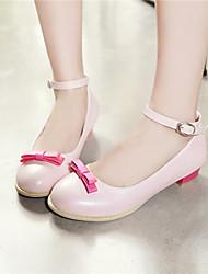 Pumps/høje hæle ( Rosa/Beige ) - GIRL - Hæle/Rund tå/Ankelrem