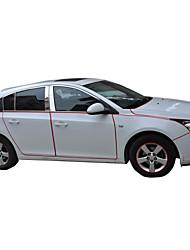 le nouveau General Motors autocollant pour la carrosserie bricolage autocollants de voiture 6 couleurs 10m / lot