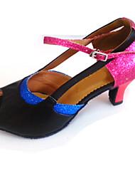 Zapatos de baile (Multicolor) - Danza latina/Salsa Tacón Personalizado