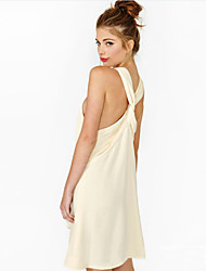 Women's Round Dresses , Others Sexy/Casual/Party Sleeveless Free Cloud