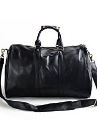 Leather hand bag shoulder bag man bag casual oversized baggage genuine Leather travel bags