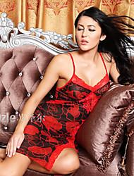 Suzel summer Ladies Sexy Lingerie Lace nightdress pyjamas hollow temptation