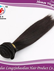 "8""-26"" 7A Factory Price Natural Color 100% Briazilian Remy Human Hair Weft"