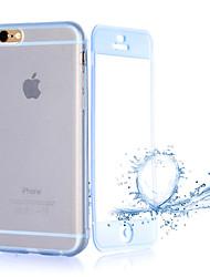 transparente Flip kostenlos wiederum Touch tpu Telefonkasten für iphone 6s plus / 6 plus (verschiedene Farben)