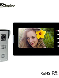 High Quality Intercom Home Security Monitor Video Intercom System with  Waterproof Outdoor Camera