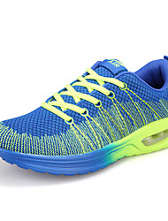 Men's Running Shoes Tulle/Fabric Blue/Red