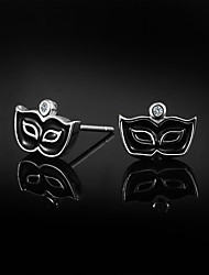 nuovi prodotti sveglio / partito / casuali Orecchini in argento sterling gioielleria dichiarazione