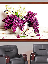 The New Restaurant Lavender Living room Decorative Painting Series Painting Paintings 5D Cube Diamond Paste Stitch