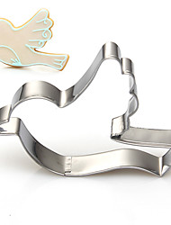 Spring Theme Flying Bird Shape Cookie Cutters Fuirt Cut Moulds Stainless Steel