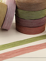 Mosaic Gold Fold Organza Ribbon-10M(More Colors)