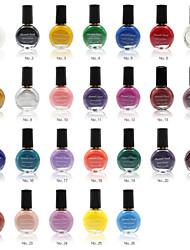 Professional Printing/Stamping Special Nail Polish,10ml(Assorted Colors)