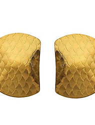 Damen Ohrring Gold Stud Earrings