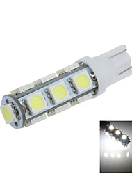 1X White T10 W5W 13SMD 5050 LED Car Clearance Lamp Side Light Bulb DC12V A012